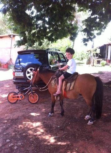 Ricardinho Milani filho em Uchoa